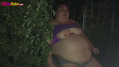 Fatty Smokes Outside Again
