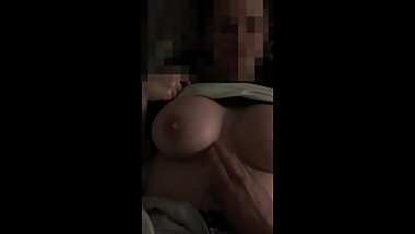 HOT MILF lets me grab her big tits
