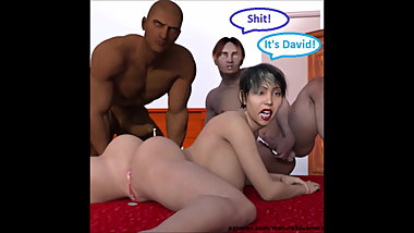 3D Comic Wife Cheats & Cuckolds Husband With A Young Stud