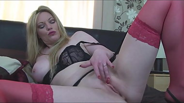 Holly Kiss Uses a Magic Wand