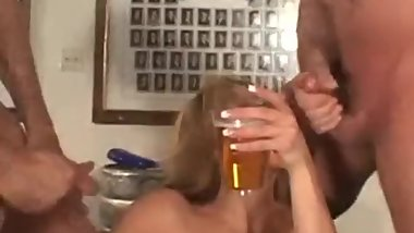 Cum in beer