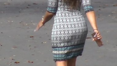 Latina MILF in a Dress