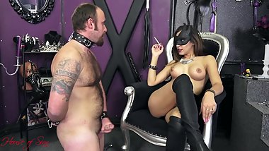 HOS Mistress Smoking JOI