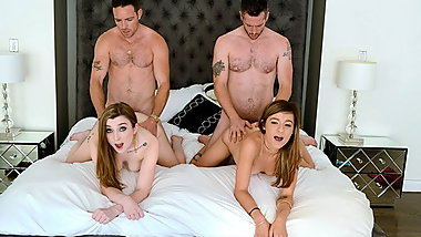 DaughterSwap - Slutty Daughters Drain Daddys Cock
