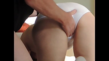 Fingering fat horny maid