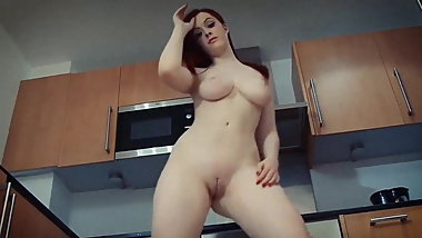 GIMME MORE - curvy beauty nude dance tease