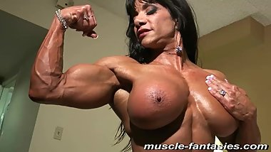 Marina Muscle Model Muscle Fantasies