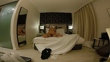 Hot teen fuck in London Hotel