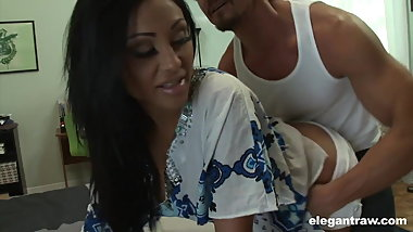 Priya Rai shows her big boobs and squirts for a show