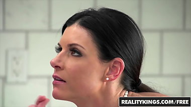 Perfect milf India Summer sucks stepson - Reality Kings