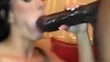 Wife Suck big black dik