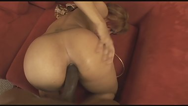 sexy black milf gets her ass stuffed by big cock