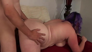 chubby british girl fucked doggy