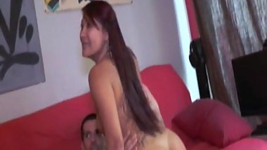 Asian Mya double fucked