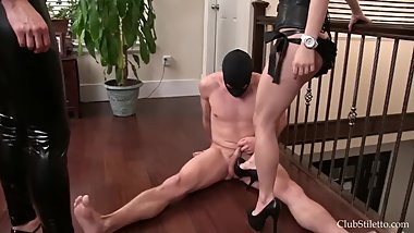 Shes not nice sexy heels ballbusting