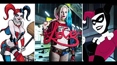 XXX Tribute to Harley Quinn