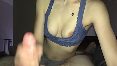 Little Lizzy Loves Sucking Cock
