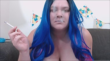 Birthday Suit BBW Smoking