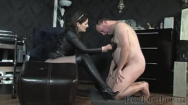 Domination Worship Boots