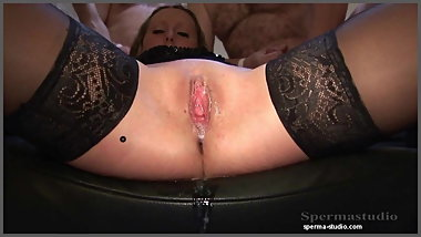 Extreme Creampies & Cumshots - Sexy Natalie T1