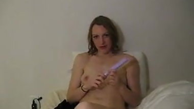 found porn - wife masturbating with toy