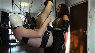MISTRESS STRAPON LEATHER Part 2